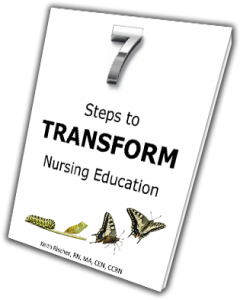7 Steps to Transform Nursing Education